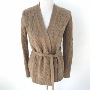 Brooks Brothers 100% Lambswool Cardigan Sweater